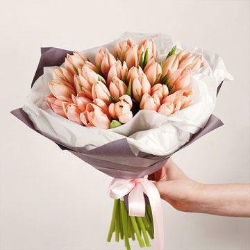 Precious Peach Tulips